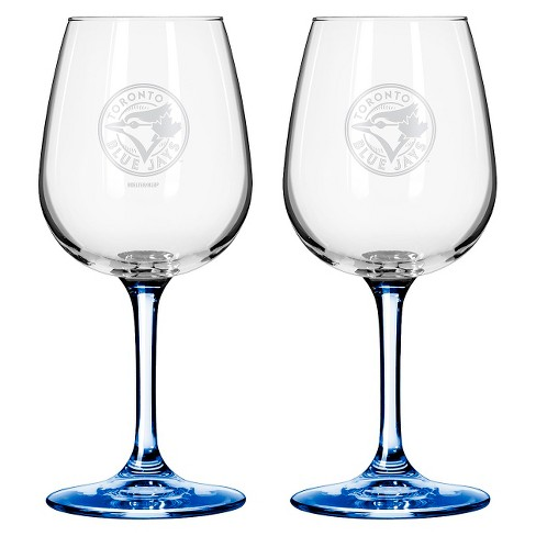 MLB Blue Jays Wine Glass - Set of 2 - 12oz. - image 1 of 1