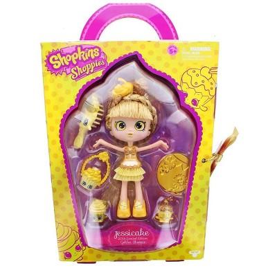 UCC Distributing Shopkins Exclusive Jessicake Shoppies Golden Cupcake Doll