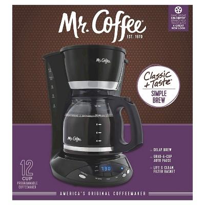 Mr. Coffee 12 Cup Coffee Maker - Black DWX23