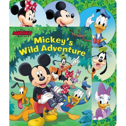 Disney Mickey Mouse: Mickey's Wild Adventure - (Sliding Tab) by  Maggie Fischer & Fernando Guell - image 1 of 1