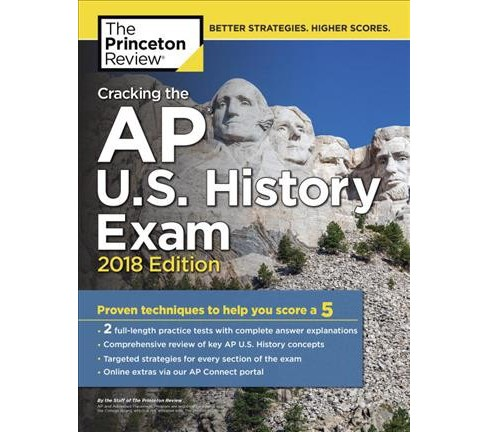 Princeton Review Cracking the AP U.S. History Exam 2018 : Proven Techniques to Help You Score a 5 - image 1 of 1