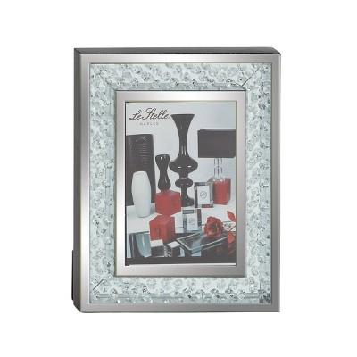 "5"" x 7"" Modern Wood and Glass Photo Frame - Olivia & May"