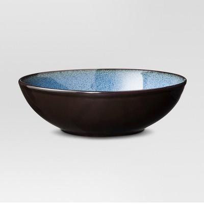 Belmost Glazed Stoneware Bowl 32oz Blue - Set of 4 - Threshold™