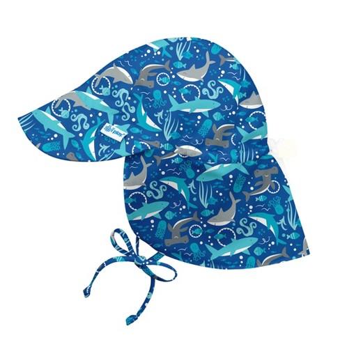 035ee4057eb I Play Toddler Boys  Shark Print Floppy Hat - Blue 2T-4T   Target