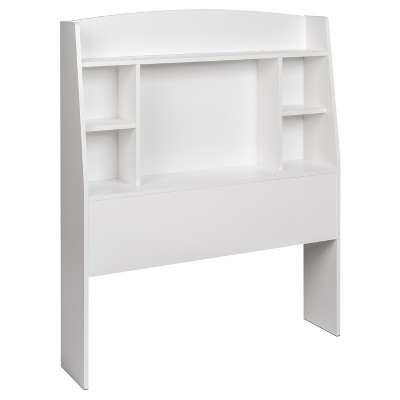 Astrid Bookcase Headboard - Twin - White - Prepac
