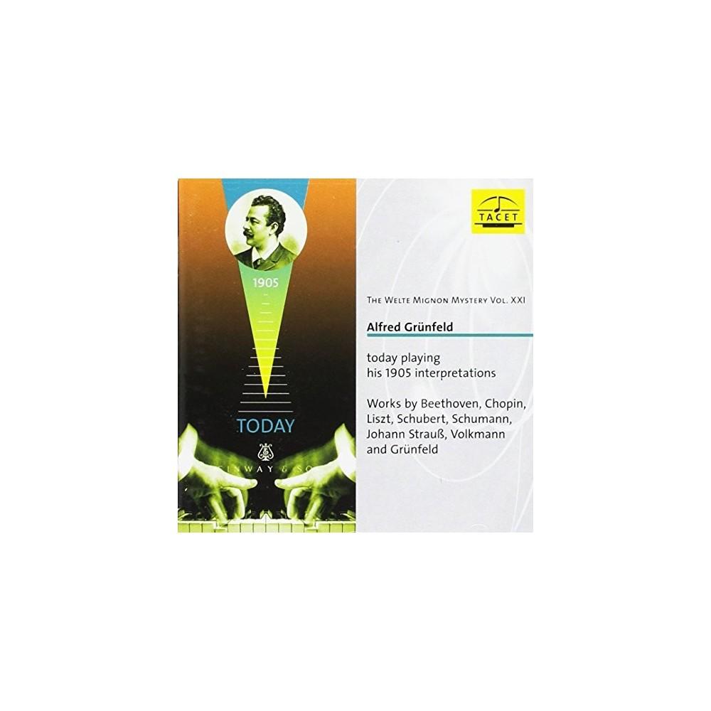 Alfred Grunfeld - Welte Mignon Mystery:Vol 21 (CD)