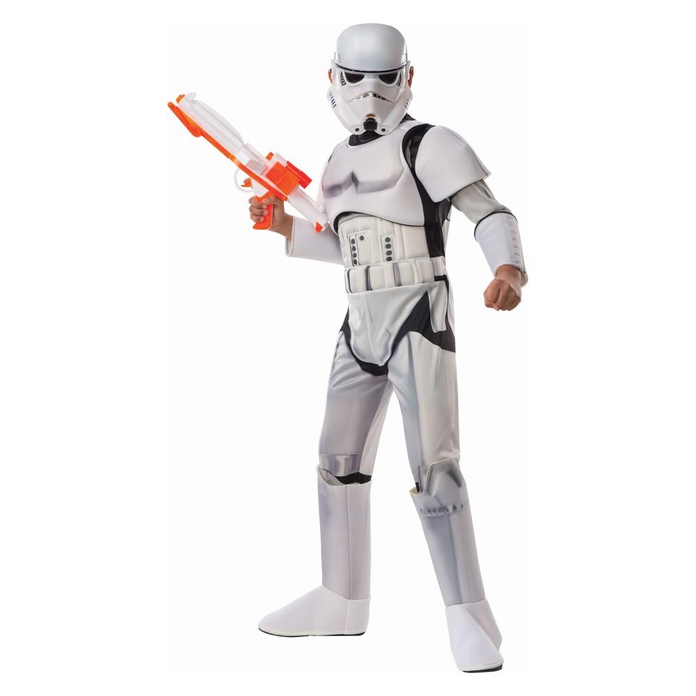 Kids' Star Wars Stormtrooper Halloween Costume L, Boy's, Multicolored