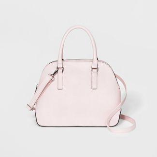 Dome Satchel Handbag - A New Day™ Light Pink