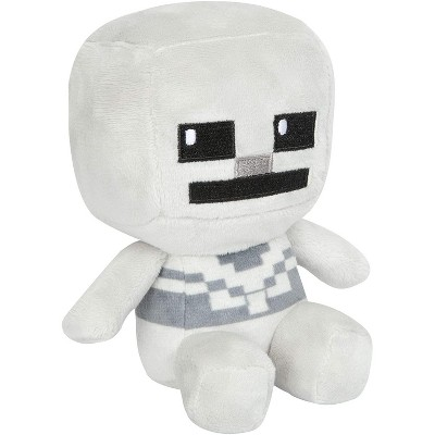 JINX Inc. Minecraft Mini Crafter Series 4.5 Inch Plush   Skeleton