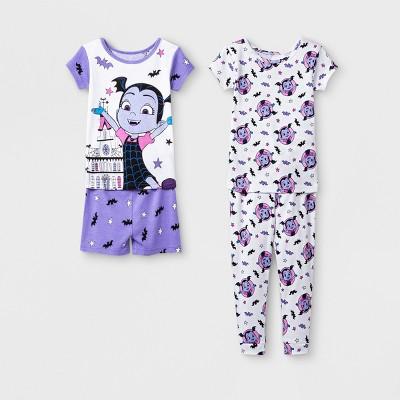 Toddler Girls' Vampirina 4pc Pajama Set - Purple 2T