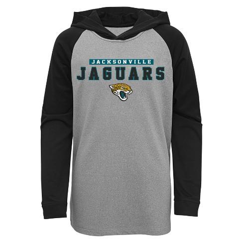 NFL Jacksonville Jaguars Boys' Long Sleeve Lightweight Hoodie - image 1 of 1