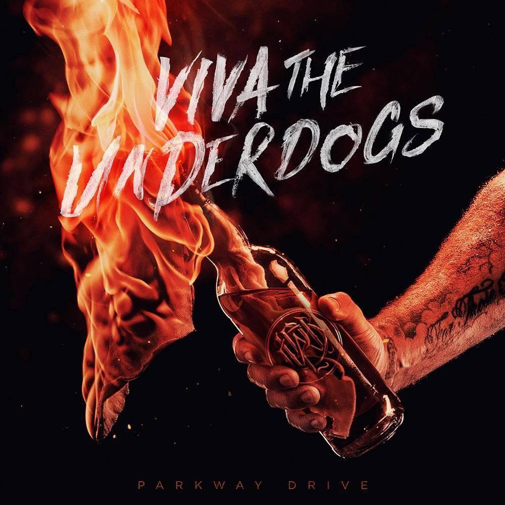 Parkway Drive Viva The Underdogs Orange Vinyl