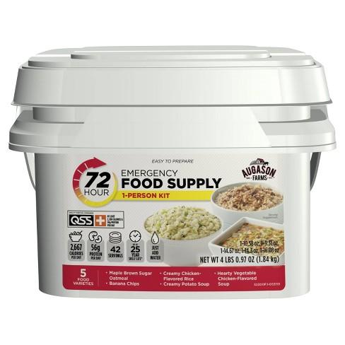 Augason Farms 72-Hour 1-Person Emergency Food Supply Kit - 4lb Pail - image 1 of 4