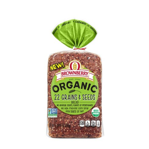 Brownberry Organic 22 Grains & Seeds Sandwich Bread - 27oz - image 1 of 1