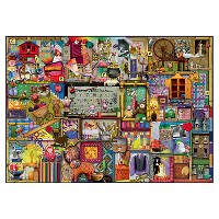 Deals on Ravensburger The Craft Cupboard Puzzle 1000pc