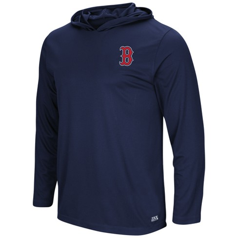 buy online edbc5 aa28b MLB Boston Red Sox Men's Lightweight Pullover Logo Hoodie - XL
