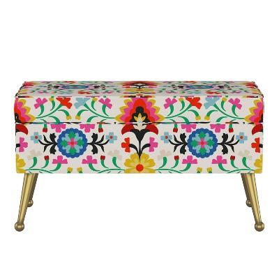 Jayda Storage Bench with Splayed Alejandra - Opalhouse™