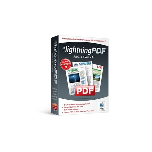 Avanquest Lightning PDF Professional 9 - Mac Digital
