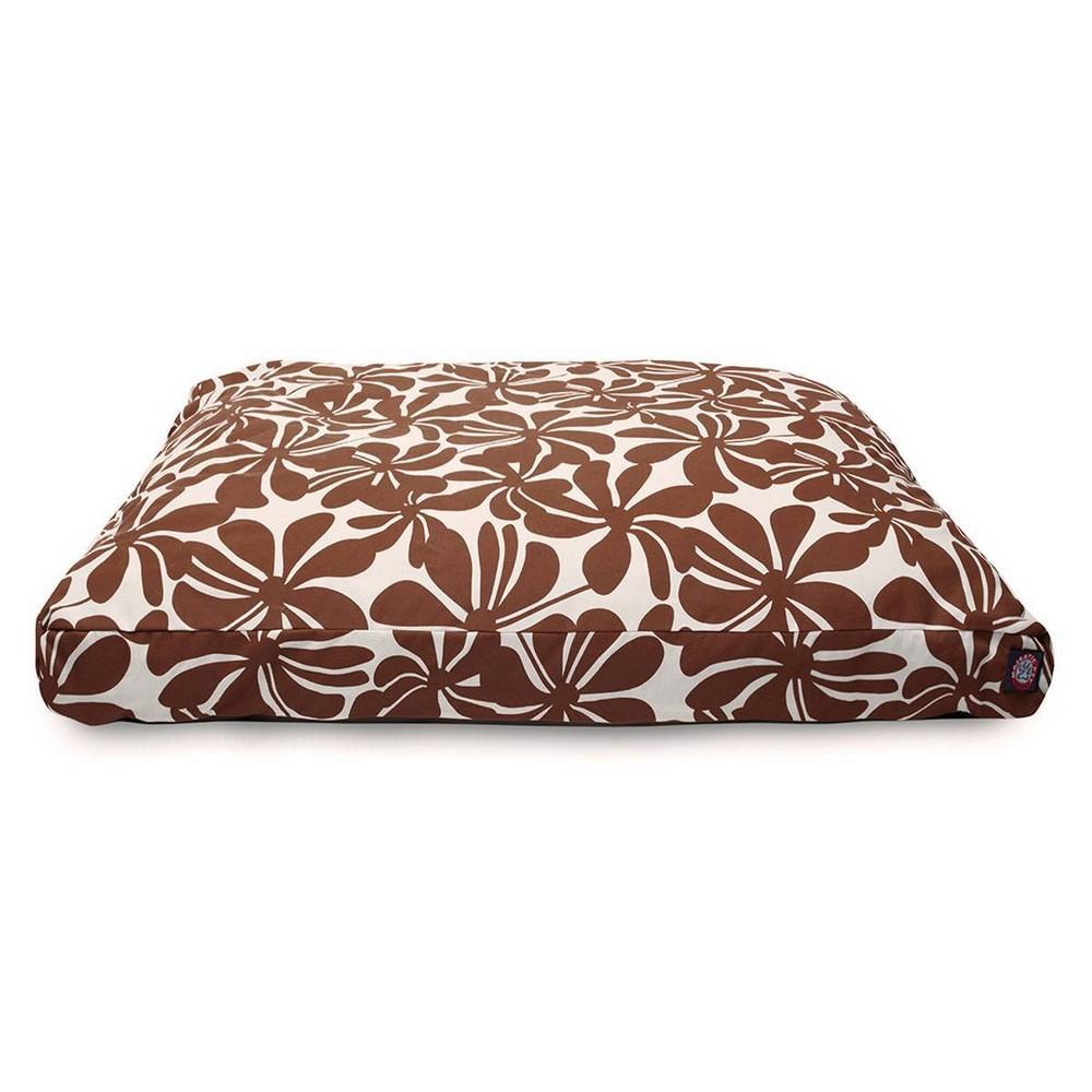 Majestic Pet Plantation Rectangle Dog Bed Chocolate Medium M