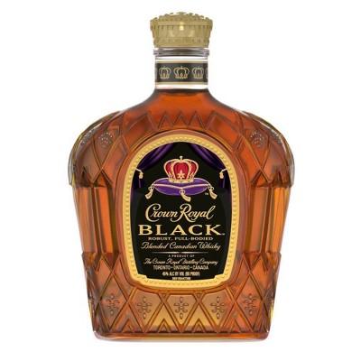 Crown Royal Black Canadian Whisky - 750ml Bottle