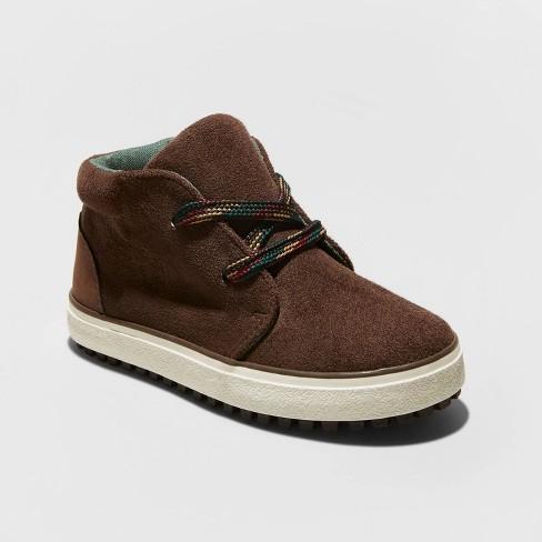 Toddler Boys' Axel Sneakers - Cat & Jack™ Brown - image 1 of 3
