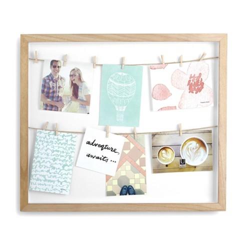 Clothesline Photo Display Frame Natural - Umbra - image 1 of 4