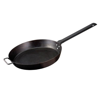 Camp Chef 20  Lumberjack Seasoned Steel Skillet - Black