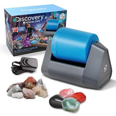 Discovery Kids Toy Kids Rock Tumbler Science Kit 18pcs