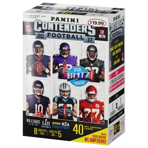 NFL Contenders Football Trading Cards Full Box - image 1 of 2