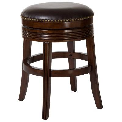 "Tillman Swivel 26"" Counter Height Barstool Wood/Cherry - Hillsdale Furniture"