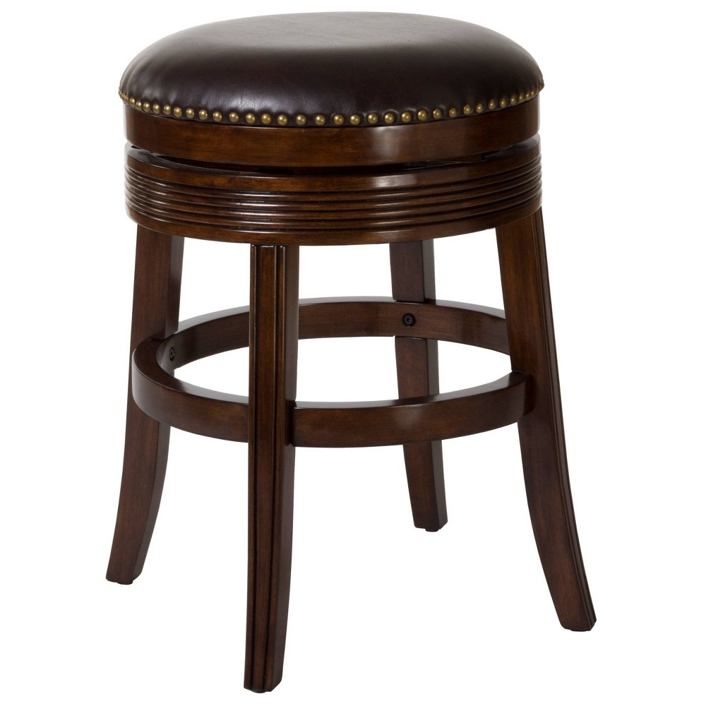 Tillman Swivel 26 Counter Stool Wood/Cherry - Hillsdale Furniture, Brown