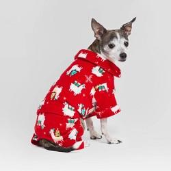 Holiday Llama Cat & Dog Pajamas - Wondershop™ Red