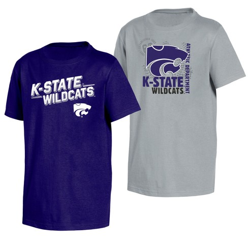 Kansas State Wildcats Double Trouble Toddler Short Sleeve 2pk T-Shirts - image 1 of 3