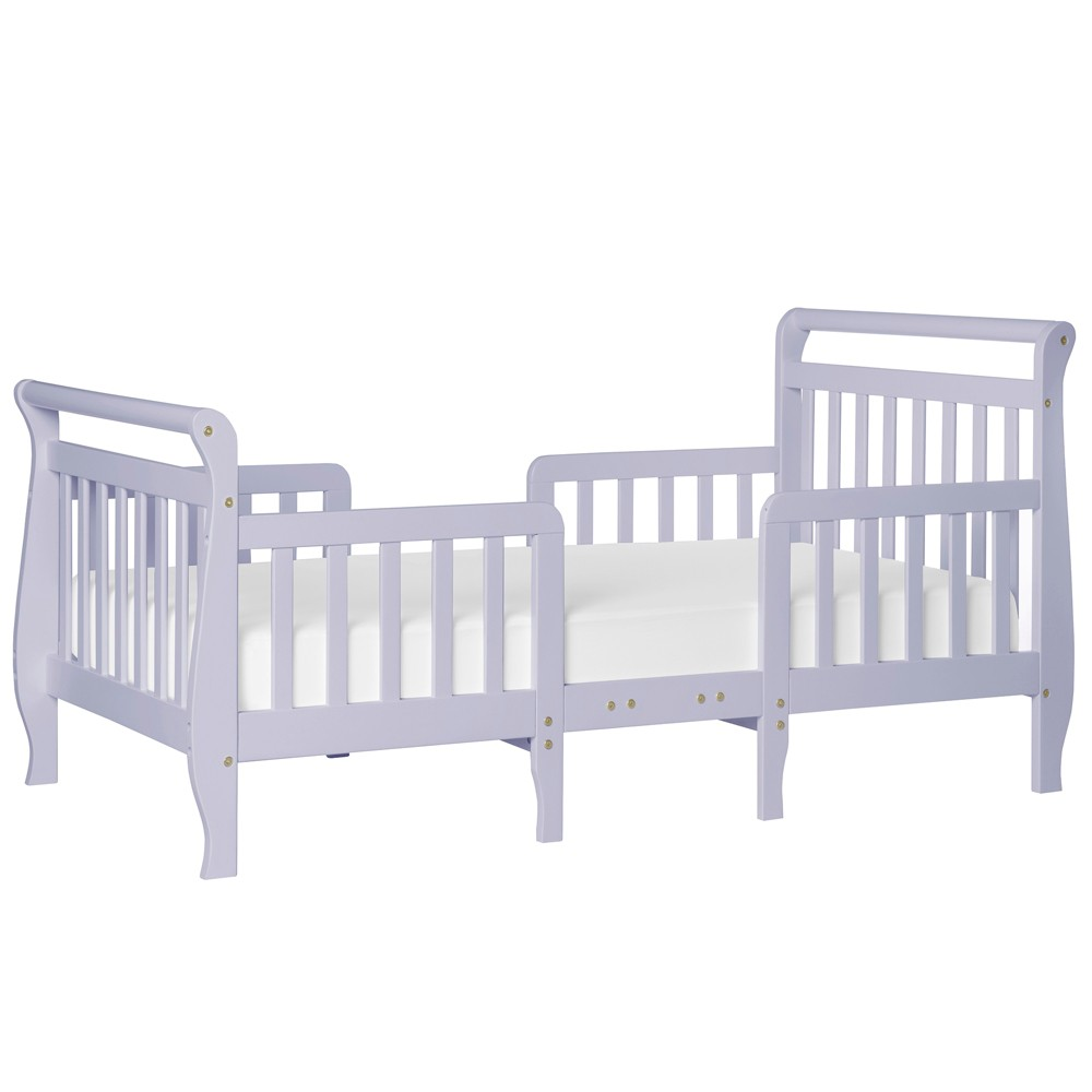 Image of Dream On Me Emma 3-in-1 Convertible Toddler Bed - Lavender, Purple