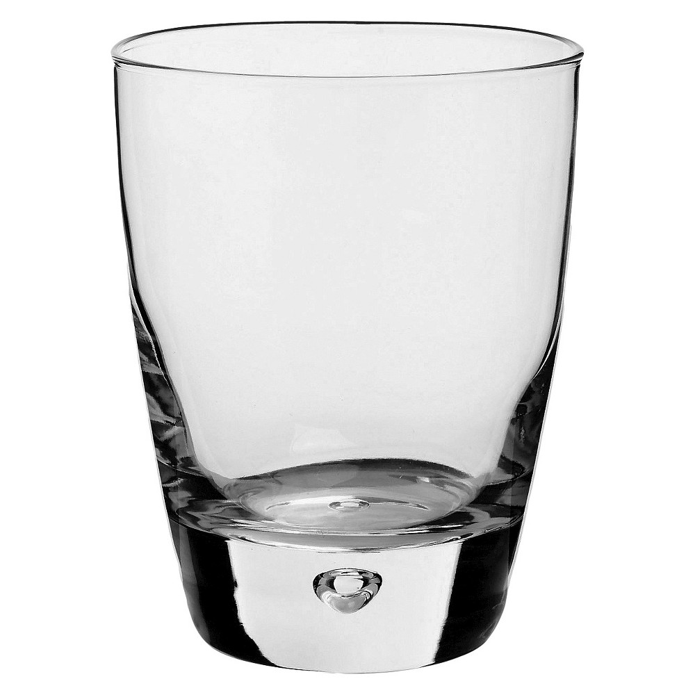 Bormioli Rocco Luna 11.5oz Water Glass - Set of 4, Clear