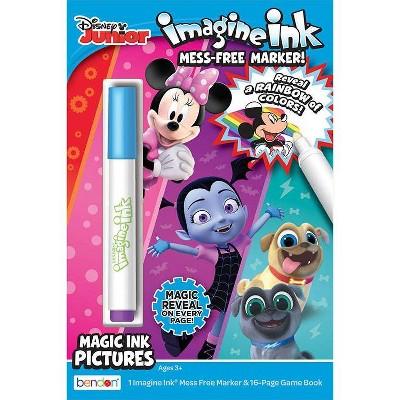 Disney Jr Digest Imagine Ink Book