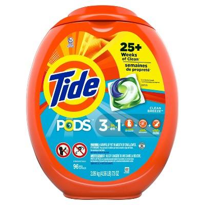 Tide Pods Clean Breeze Laundry Detergent Pacs