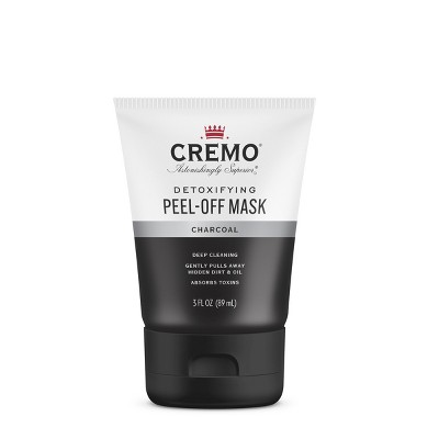 Cremo Charcoal Peel-Off Detoxifying Face Mask - Trial Size - 3 fl oz