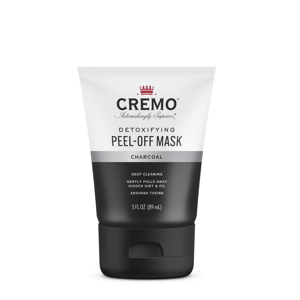 Image of Cremo Charcoal Peel-Off Detoxifying Face Mask - 3 fl oz