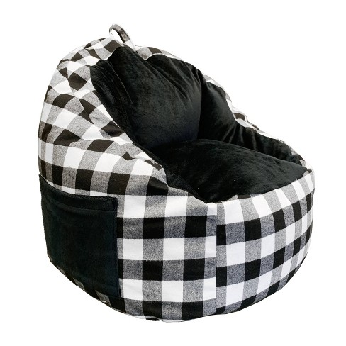 Structured Chairs with Pocket Buffalo Check - ACEssentials - image 1 of 4