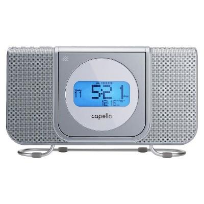 Capello® CR25 CD Clock Radio - White