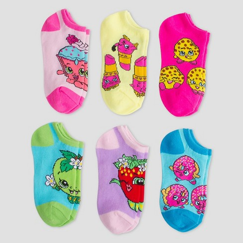 7578284a8a0 Girls  Shopkins Casual Socks   Target
