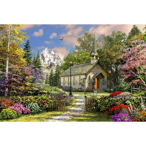 Springbok Mountain View Chapel Jigsaw Puzzle 500pc - image 1 of 1