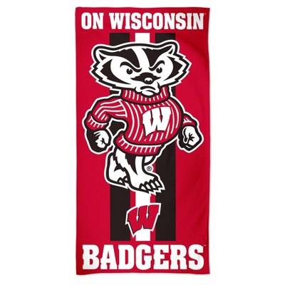 "NCAA Wisconsin Badgers 30""x60"" Beach Towel"