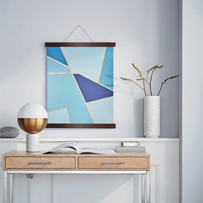 Medium Hanging Bar Single Picture Frame Walnut - Project 62™