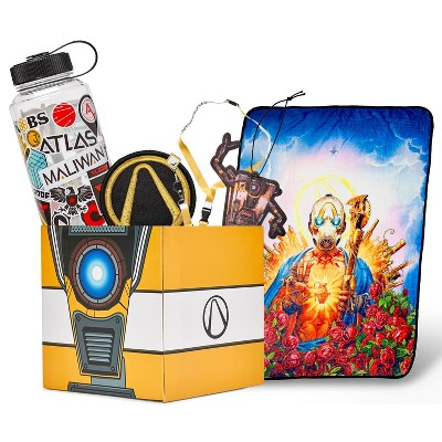 Just Funky Borderlands LookSee Mystery Gift Box #2 | Psycho Blanket | Lanyard | Water Bottle | More