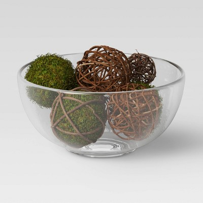 8pc Decorative Wrapped Moss Ball Filler - Threshold™