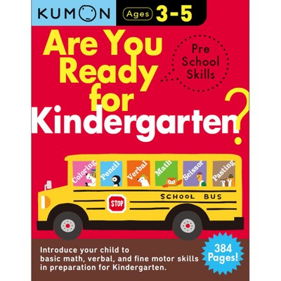 Are You Ready for Kindergarten Preschool Skills - (Arkw) Book 1 by Kumon Publishing (Paperback)
