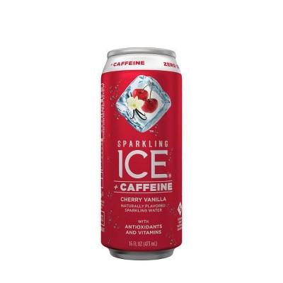 Sparkling Ice Cherry Vanilla +Caffeine - 16 fl oz Bottle
