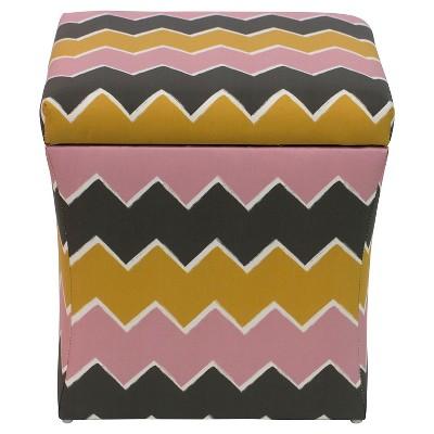 Layla Storage Ottoman   Cloth U0026 Co : Target
